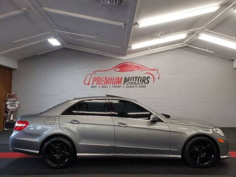 2010 Mercedes-Benz E-Class for sale at Premium Motors in Villa Park IL