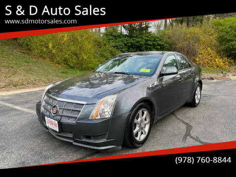 2008 Cadillac CTS for sale at S & D Auto Sales in Maynard MA