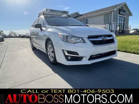 2016 Subaru Impreza for sale at Auto Boss in Woodscross UT