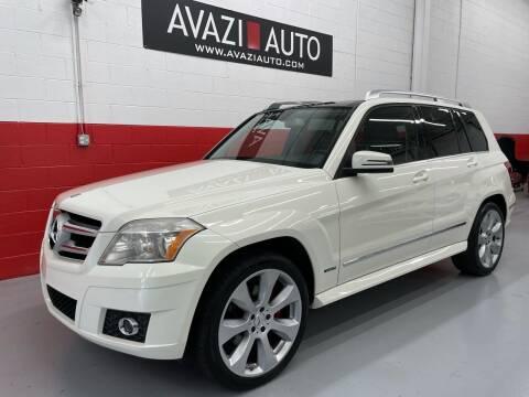 2010 Mercedes-Benz GLK for sale at AVAZI AUTO GROUP LLC in Gaithersburg MD