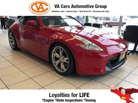2009 Nissan 370Z for sale at VA Cars Inc in Richmond VA
