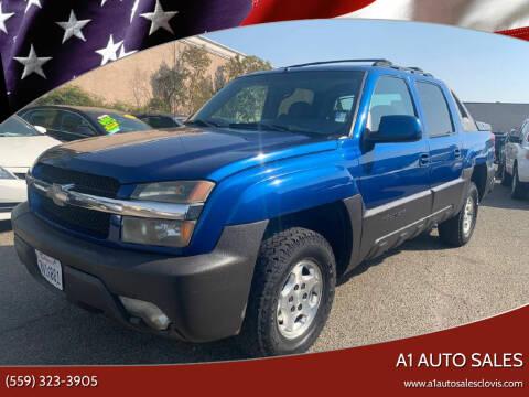 2003 Chevrolet Avalanche for sale at A1 AUTO SALES in Clovis CA