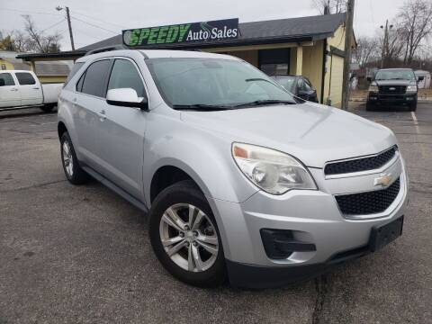 2013 Chevrolet Equinox for sale at speedy auto sales in Indianapolis IN