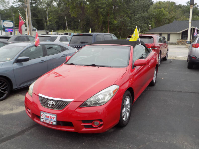 2007 Toyota Camry Solara for sale at Comet Auto Sales in Manchester NH