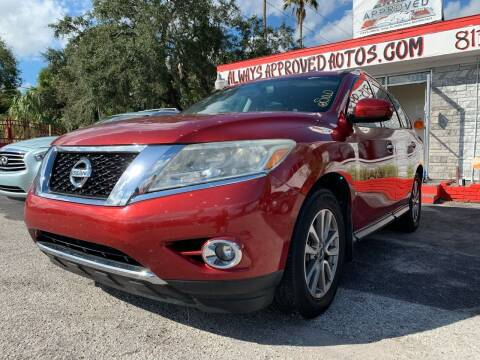 2015 Nissan Pathfinder for sale at Always Approved Autos in Tampa FL