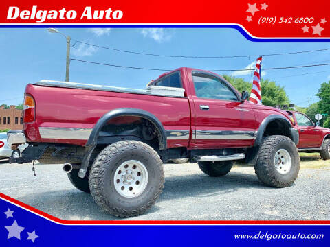 1999 Toyota Tacoma for sale at Delgato Auto in Pittsboro NC