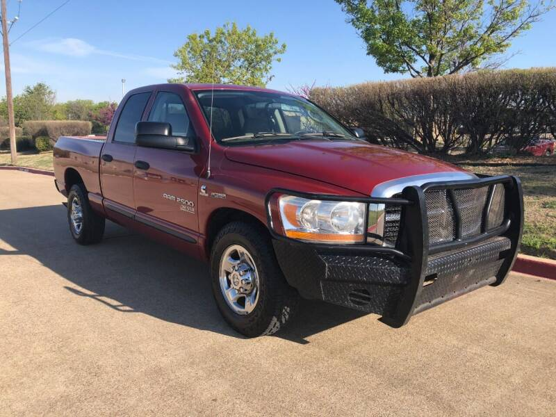 2006 Dodge Ram Pickup 2500 for sale at Taylor Investments in Plano TX