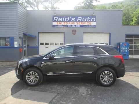 2018 Cadillac XT5 for sale at Reid's Auto Sales & Service in Emporium PA