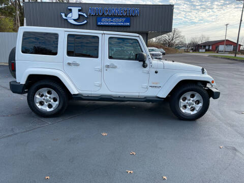 2015 Jeep Wrangler Unlimited for sale at JC AUTO CONNECTION LLC in Jefferson City MO