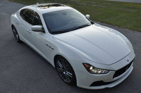 2014 Maserati Ghibli for sale at Supreme Automotive in Land O Lakes FL