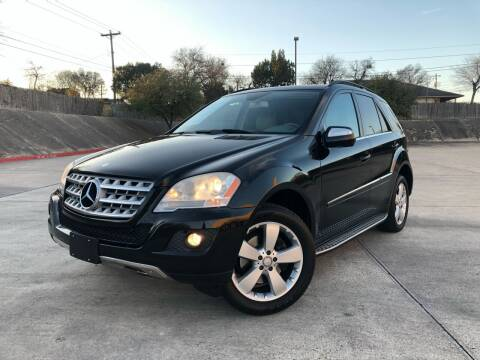 2010 Mercedes-Benz M-Class for sale at Royal Auto LLC in Austin TX