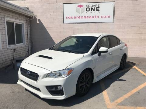 2017 Subaru WRX for sale at SQUARE ONE AUTO LLC in Murray UT