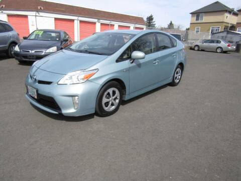 2015 Toyota Prius for sale at ARISTA CAR COMPANY LLC in Portland OR