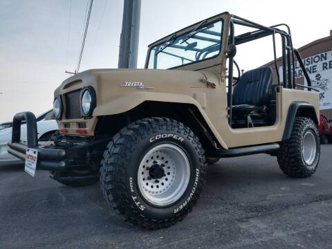 1973 Toyota Land Cruiser for sale at Kustomz Truck & Auto Inc. in Rapid City SD