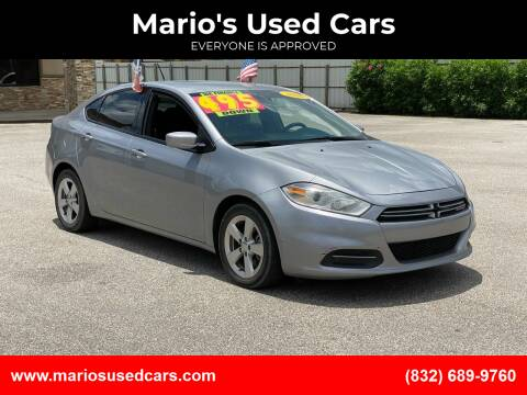 2016 Dodge Dart for sale at Mario's Used Cars - Pasadena Location in Pasadena TX