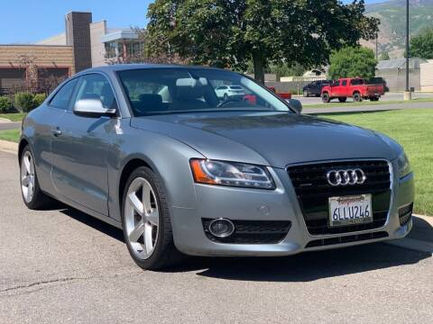 2010 Audi A5 for sale at A.I. Monroe Auto Sales in Bountiful UT