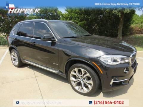 2018 BMW X5 for sale at HOPPER MOTORPLEX in Mckinney TX