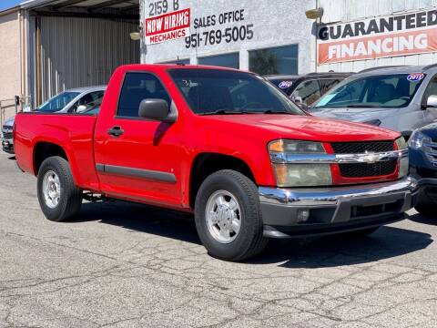 2008 Chevrolet Colorado for sale at Auto Source in Banning CA