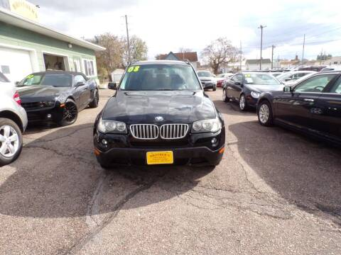 2008 BMW X3 for sale at Brothers Used Cars Inc in Sioux City IA