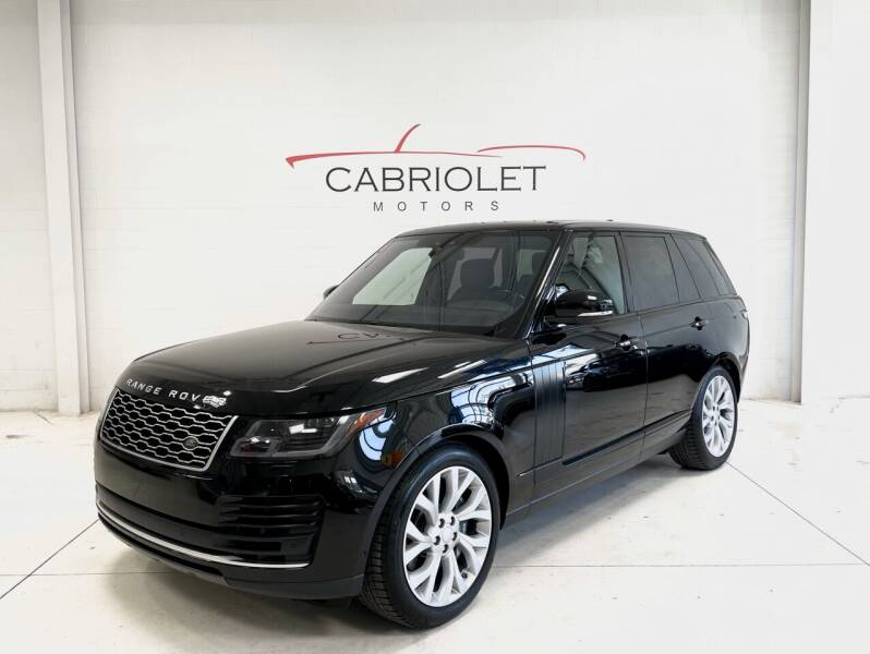 2018 Land Rover Range Rover for sale at Cabriolet Motors in Morrisville NC