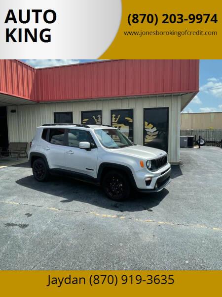 2020 Jeep Renegade for sale at AUTO KING in Jonesboro AR