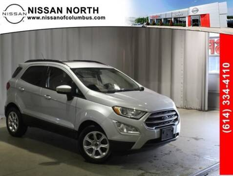 2019 Ford EcoSport for sale at Auto Center of Columbus in Columbus OH