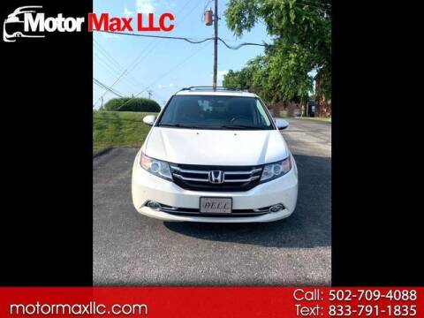 2016 Honda Odyssey for sale at Motor Max Llc in Louisville KY