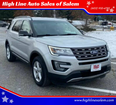 2017 Ford Explorer for sale at High Line Auto Sales of Salem in Salem NH