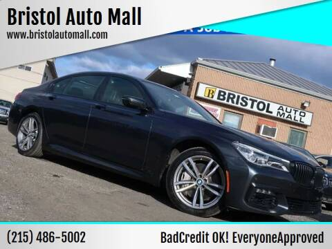 2016 BMW 7 Series for sale at Bristol Auto Mall in Levittown PA