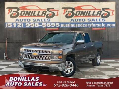2015 Chevrolet Silverado 1500 for sale at Bonillas Auto Sales in Austin TX