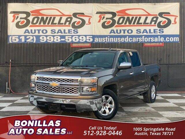 2015 Chevrolet Silverado 1500 for sale at Bonillas Auto Sales in Austin TX