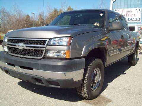 2006 Chevrolet Silverado 2500HD for sale at Frank Coffey in Milford NH