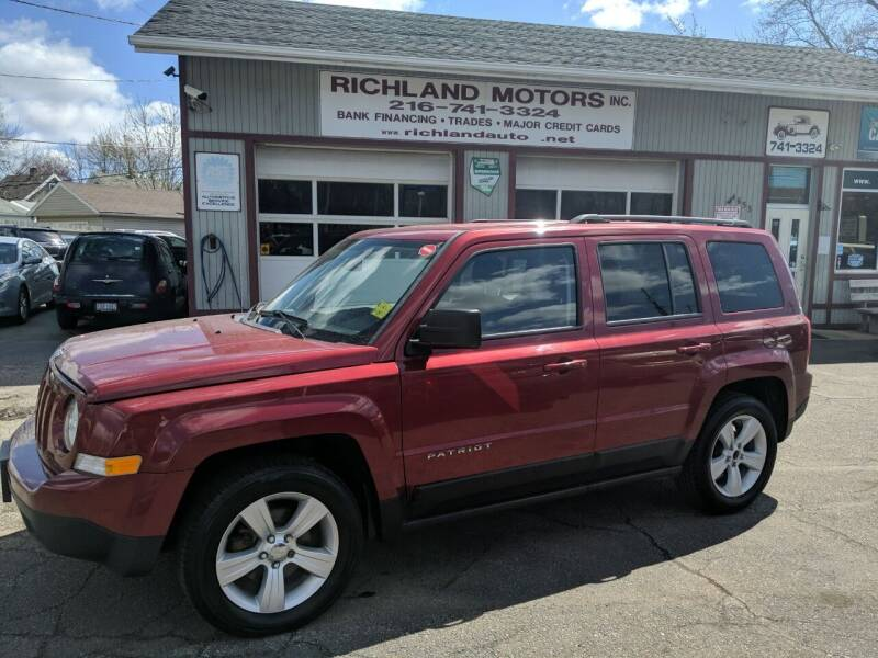2015 Jeep Patriot for sale at Richland Motors in Cleveland OH