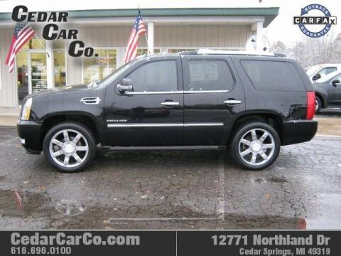2012 Cadillac Escalade for sale at Cedar Car Co in Cedar Springs MI