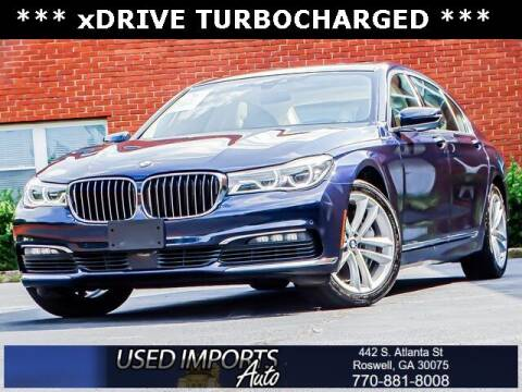 2018 BMW 7 Series for sale at Used Imports Auto in Roswell GA