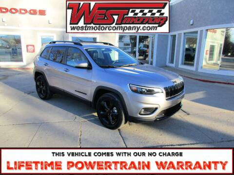 2020 Jeep Cherokee for sale at West Motor Company in Hyde Park UT