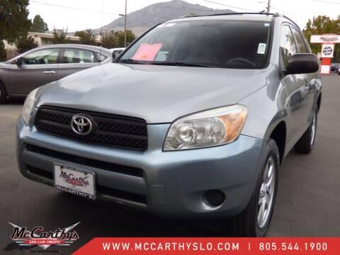 2008 Toyota RAV4 for sale at McCarthy Wholesale in San Luis Obispo CA