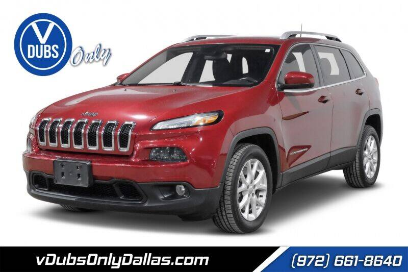 2016 Jeep Cherokee for sale at VDUBS ONLY in Dallas TX