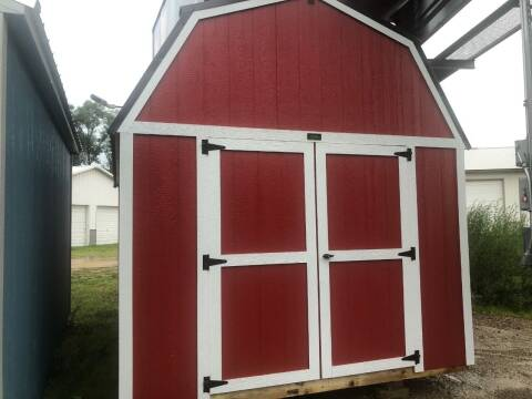 2021 premier 10x16 lofted barn for sale at Triple R Sales in Lake City MN
