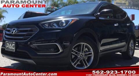 2017 Hyundai Santa Fe Sport for sale at PARAMOUNT AUTO CENTER in Downey CA