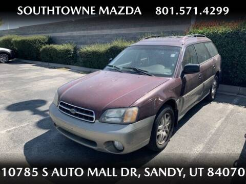 2000 Subaru Outback for sale at Southtowne Mazda of Sandy in Sandy UT
