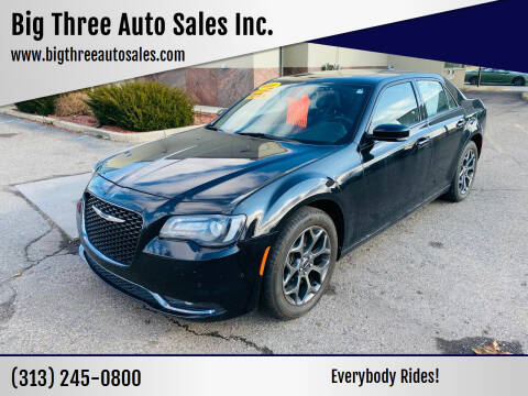 2018 Chrysler 300 for sale at Big Three Auto Sales Inc. in Detroit MI