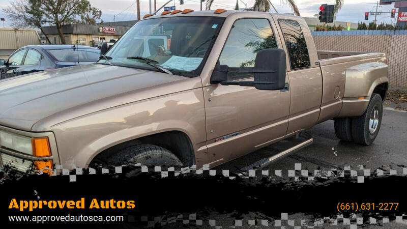 1995 GMC Sierra 3500 for sale at Approved Autos in Bakersfield CA