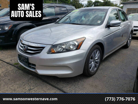 2011 Honda Accord for sale at SAM'S AUTO SALES in Chicago IL