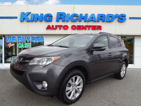 2013 Toyota RAV4 for sale at KING RICHARDS AUTO CENTER in East Providence RI