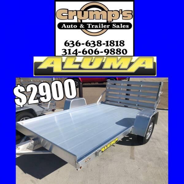 2022 Aluma 10' Utility Trailer for sale at CRUMP'S AUTO & TRAILER SALES in Crystal City MO