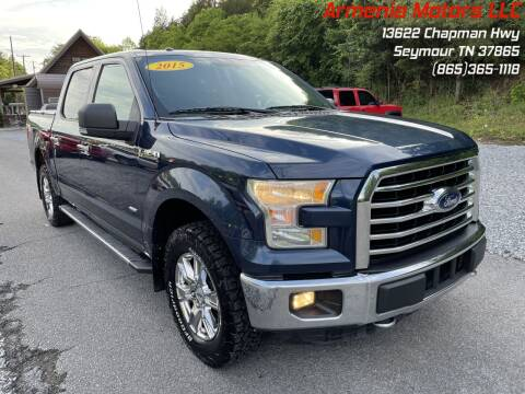 2015 Ford F-150 for sale at Armenia Motors in Seymour TN