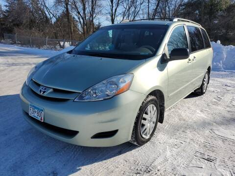 2007 Toyota Sienna for sale at Ace Auto in Jordan MN
