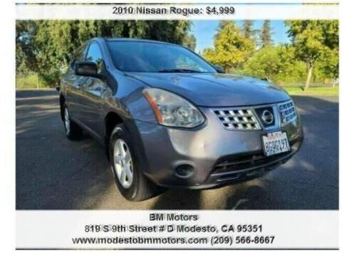 2010 Nissan Rogue for sale at BM Motors in Modesto CA