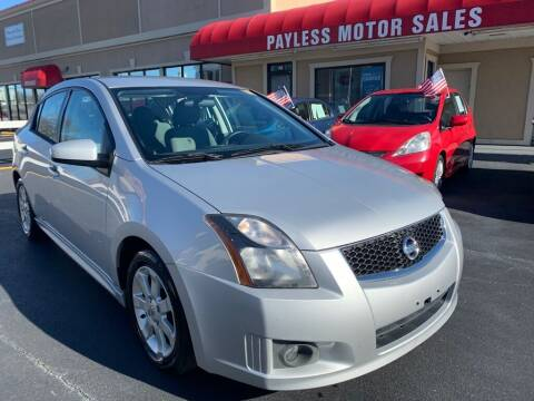2012 Nissan Sentra for sale at Payless Motor Sales LLC in Burlington NC